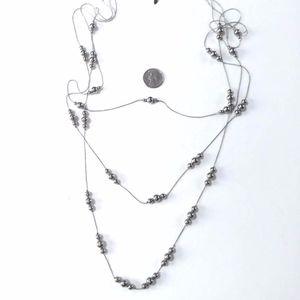 NY & Co 3 strand layered necklace